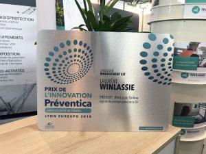 Préventica Prix de l'innovation - WinLassie